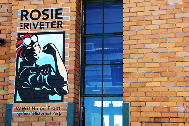 Rosie the Riveter WWII Home Front museum, outside