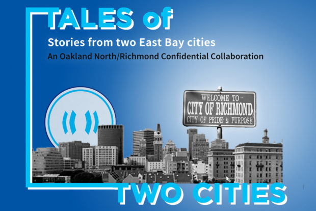 Tales of Two Cities brings you audio stories from Oakland and Richmond. Design by Angelica Casas.