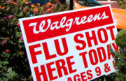 Walgreens advertisement for flu shots